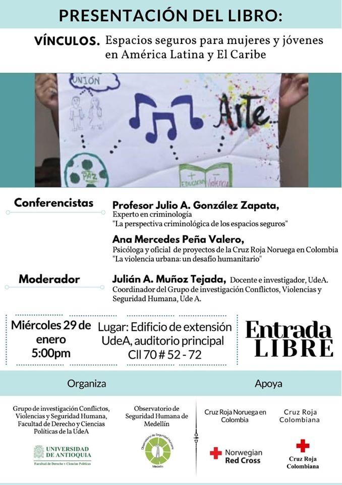 Lanzamiento del libro: Vínculos, espacios seguros en América Latina y el Caribe